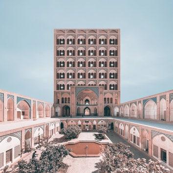 """Фотопроект """"Ретрофутуризм"""": новый взгляд на архитектуру Ирана"""
