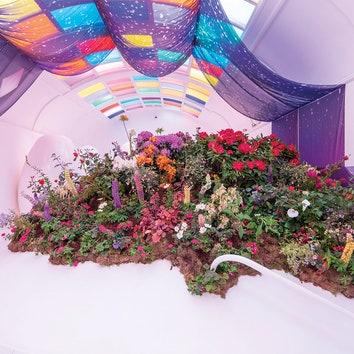 Мир цветов: Mayfair Flower Show в лондонском ресторане Sketch