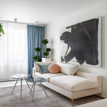 Белая квартира по проекту студии Atelier Interior, 70 м²