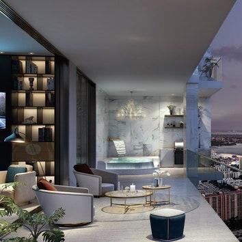 Проект жилого комплекса The Estates at Acqualina в Майами