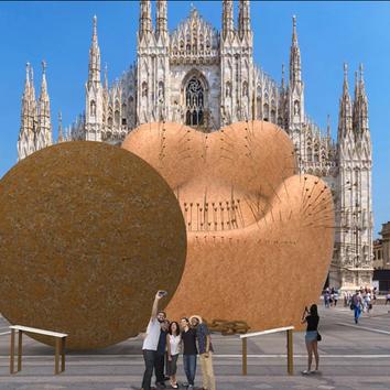 Гаэтано Пеше представит восьмиметровую инсталляцию в рамках Миланской недели дизайна