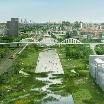 Бюро OMA превратит в парки заброшенные железнодорожные станции Милана
