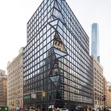 Бюро OMA завершило строительство жилого комплекса на Манхэттене