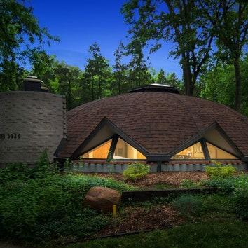 #чтобятакжил: купольный дом, созданный учеником Фрэнка Ллойда Райта