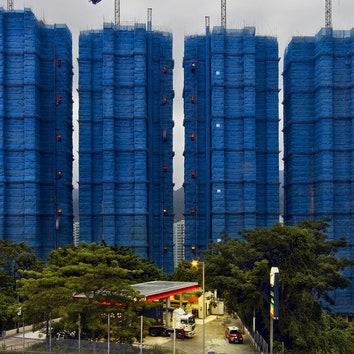 Архитектура в объективе: строительные леса Гонконга глазами Питера Штайнхауэра