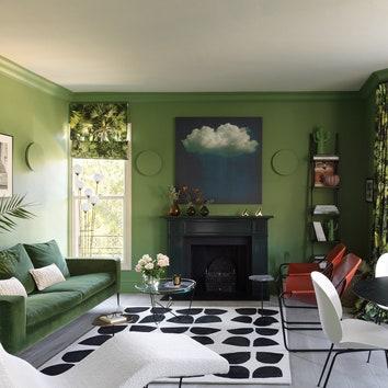 Как оформить интерьер в зеленом цвете: 7 примеров от дизайнеров