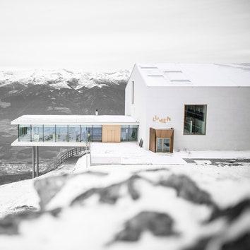 Седьмой музей Райнхольда Месснера в Доломитовых Альпах — Lumen