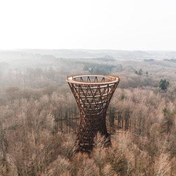 В Дании открылась смотровая площадка Camp Adventure Tower