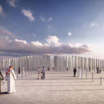 """""""Магнитное поле"""" от OMA и Inside Outside в Дубае"""