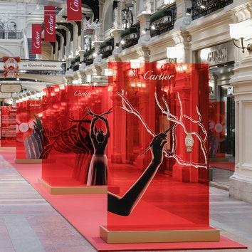 """Выставка """"Manifesto Cartier. В авангарде. Вне времени"""" в ГУМе"""