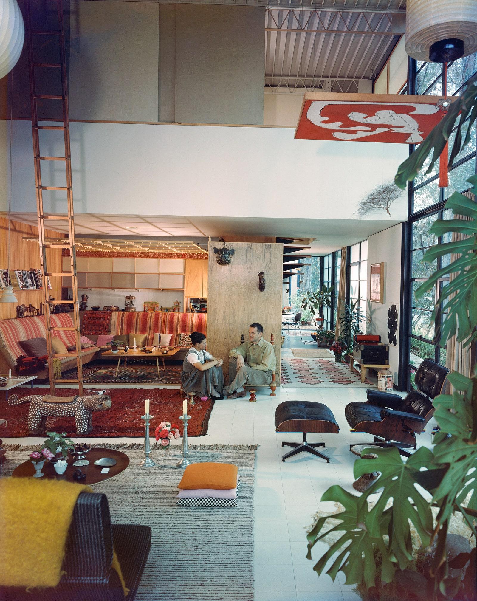 1958 .               .  Julius Shulman.  J. Paul Getty Trust. Getty Research Institute Los Angeles.