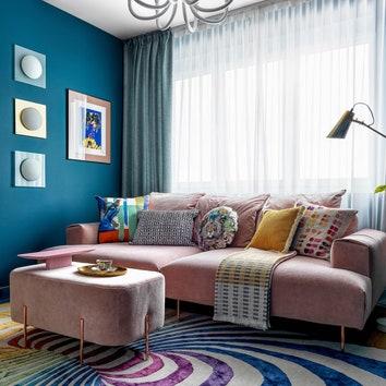 Квартира в Москве по проекту Art Group, 87 м²