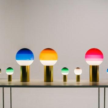 Яркие лампы-леденцы для Marset