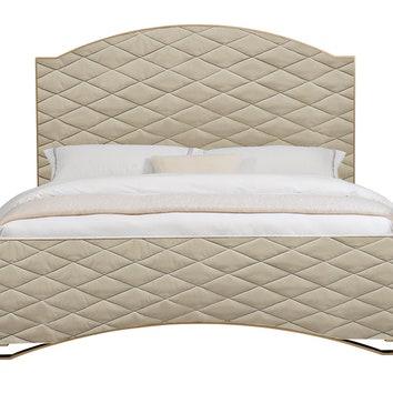 Caracole. Кровать, текстиль, металл. That's Living.