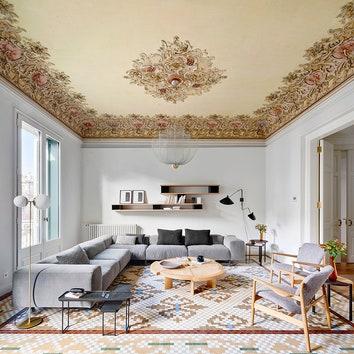 Модернизм и авангард: апартаменты в доме Casa Burés в Барселоне