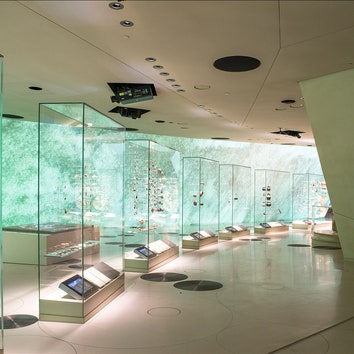 Designed by Ateliers Jean Nouvel Core Chronology in The Archaeology of Qatar gallery. Photo credit: Danica Kus