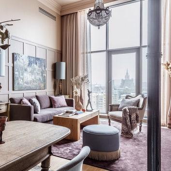 Квартира в центре Москвы, 80 м²