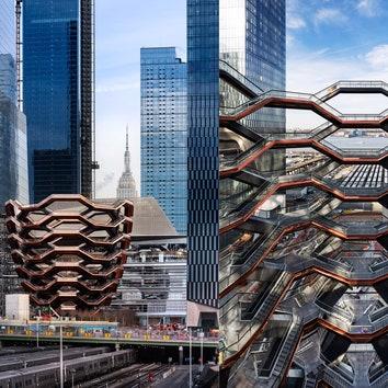 В Нью-Йорке открылся Vessel: масштабный проект Томаса Хизервика