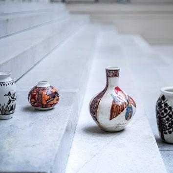 Коллекция сувениров Пушкинского музея, созданная художниками с аутизмом