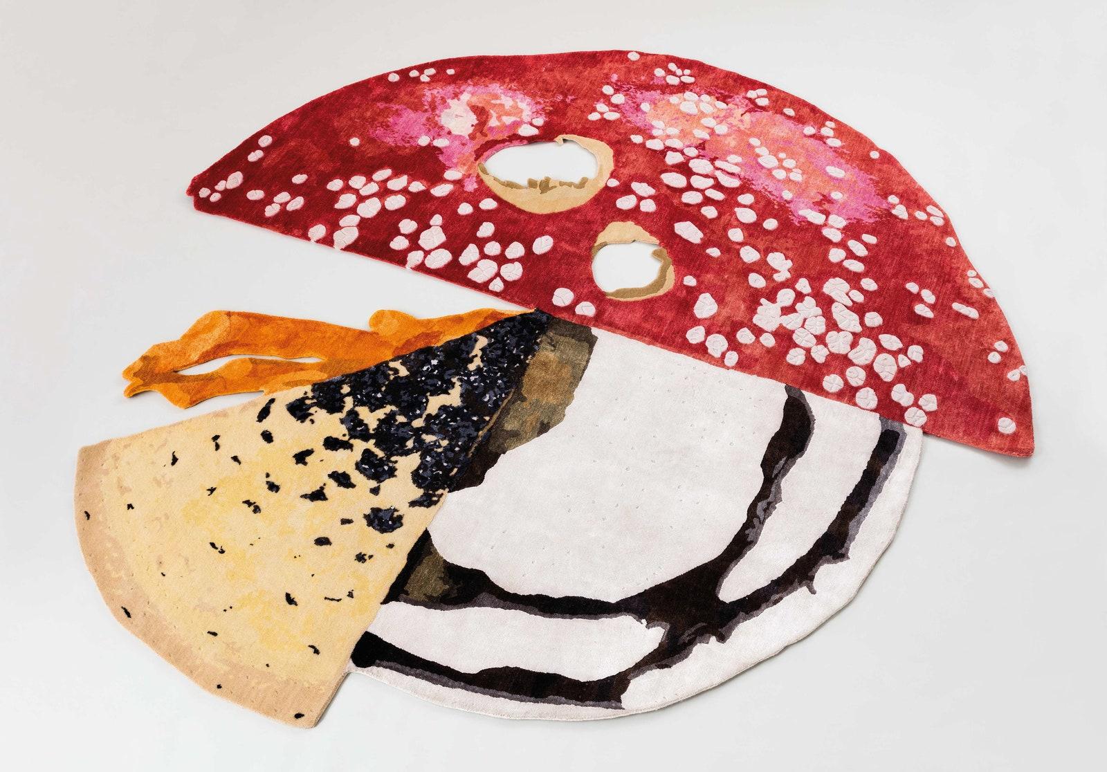 Massimo De Carlo. Milan London HongKong. Mushroom Carpet  Carsten Hoeller.  Andrea Rossetti.