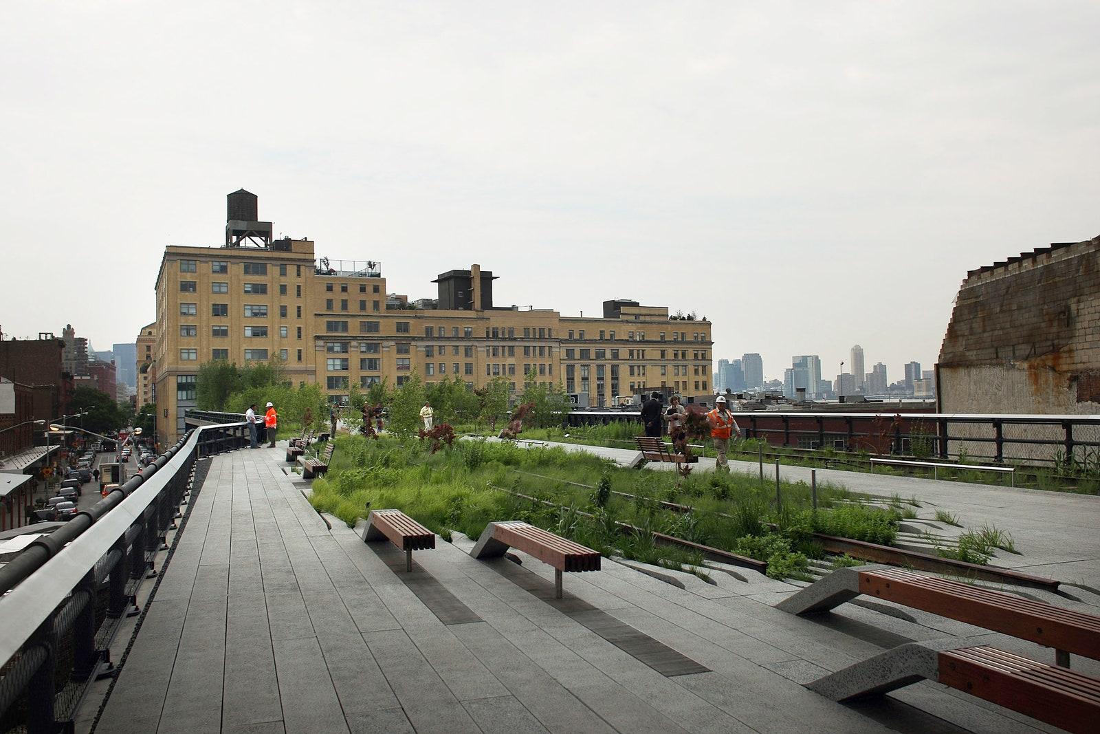 High Line  .