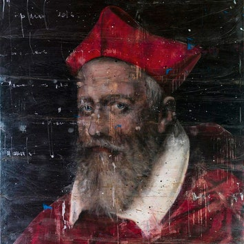 "Картина художника Анджело Аккарди изарт-галереи  ""Толстой""."