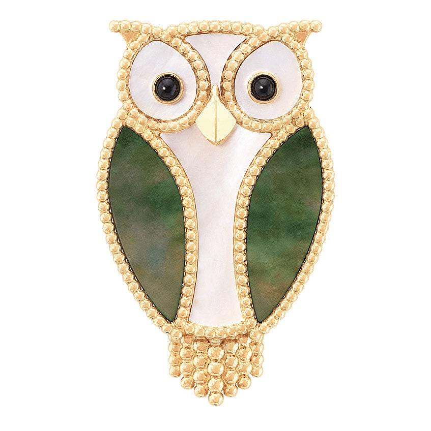 Lucky Animals Owl     Van Cleef amp Arpels.