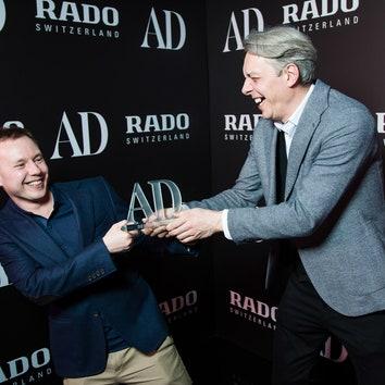 Гости церемонии вручения первой премии AD Design Award
