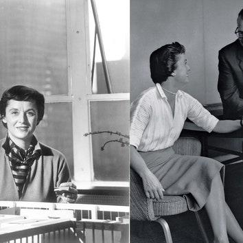 Пост почитания Флоренс Нолл Бассетт: история жизни и архивные фотографии