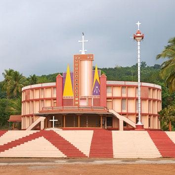 Архитектура в объективе: постмодернистские церкви на юге Индии