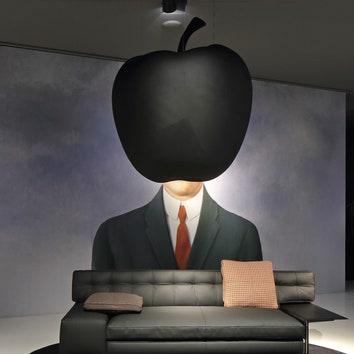 Диваны из яблок: новый проект Филиппа Старка для Cassina