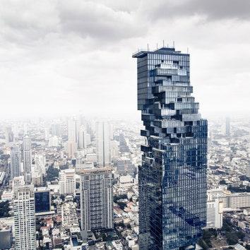 На втором по высоте небоскребе в Таиланде открылась смотровая площадка