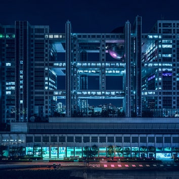 Архитектура в объективе: ночной Токио глазами Тома Блэчфорда