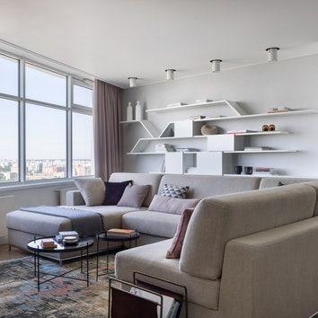 Квартира с видом на ВДНХ, 160 м²
