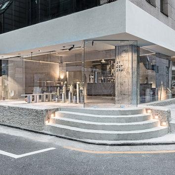 Минималистичное кафе-бар Et Cetera в Сеуле
