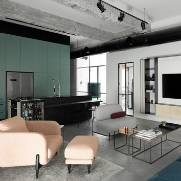 Светлая квартира для молодой семьи в Тель-Авиве