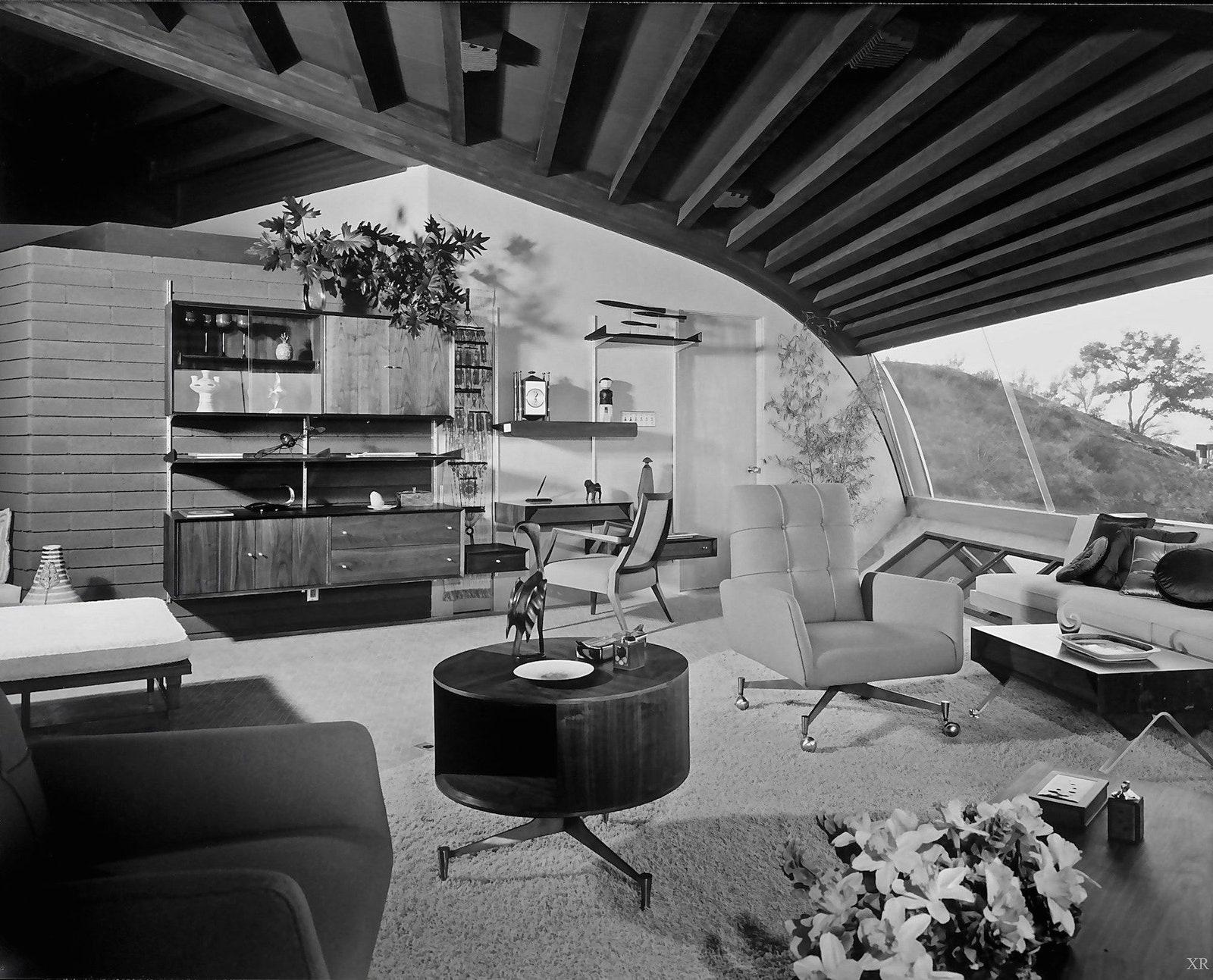 The Chemosphere Residence by Julius Shulman Gallery
