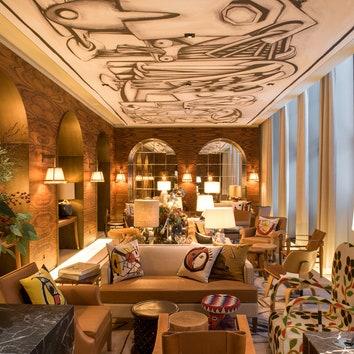 Отель Brach по проекту Филиппа Старка в Париже