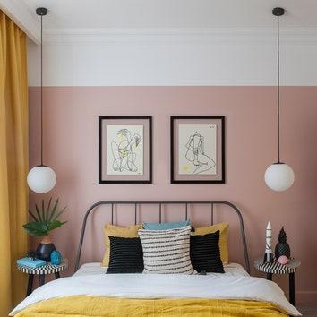 Интерьер с обложки: квартира для интуристов, 50 м²