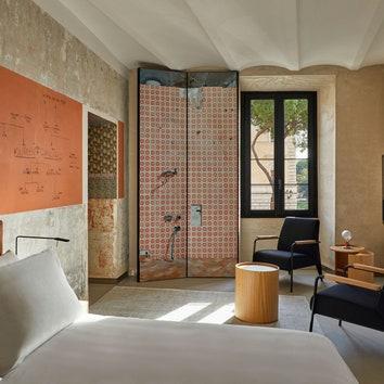 Эклектичные апартаменты от Жана Нувеля