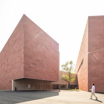 Музей на территории Китайской академии искусств в Ханчжоу