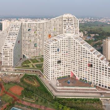 Бюро MVRDV построило масштабный жилой комплекс в Индии