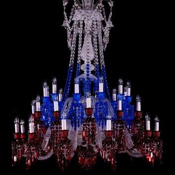 """Выставка """"Симфония света"""" в честь юбилея Maison Baccarat в Москве"""