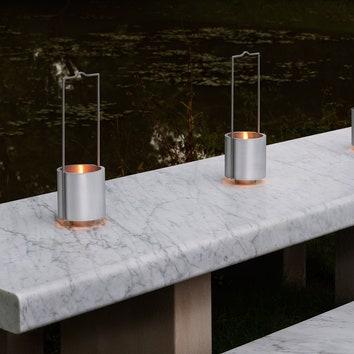 Масляная лампа по дизайну Джона Поусона