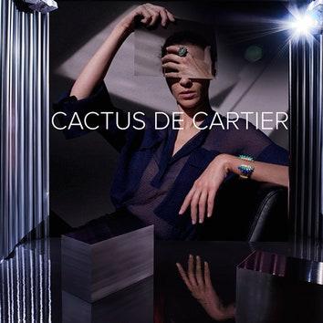 Новый авангардный образ бутика Cartier на Петровке