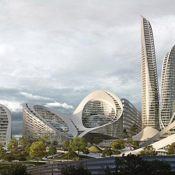 Бюро Zaha Hadid Architects построит новый район Москвы
