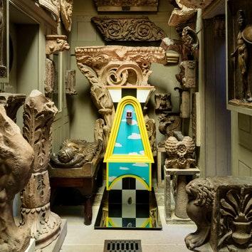 Необычные скульптуры в Музее сэра Джона Соуна