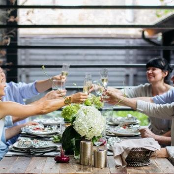 Ужин на террасе: советы дизайнеров Илоны Меньшаковой и Ирины Маркидоновой