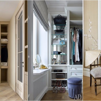 Гардеробная комната: 10 вариантов оформления