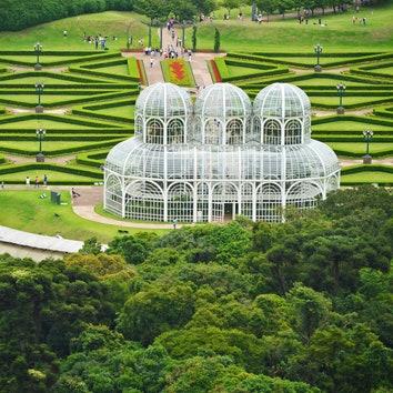 11 садов мира с высоты птичьего полета